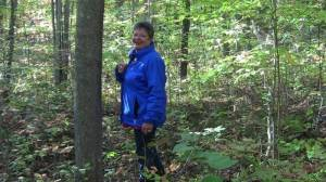 me-in-forest